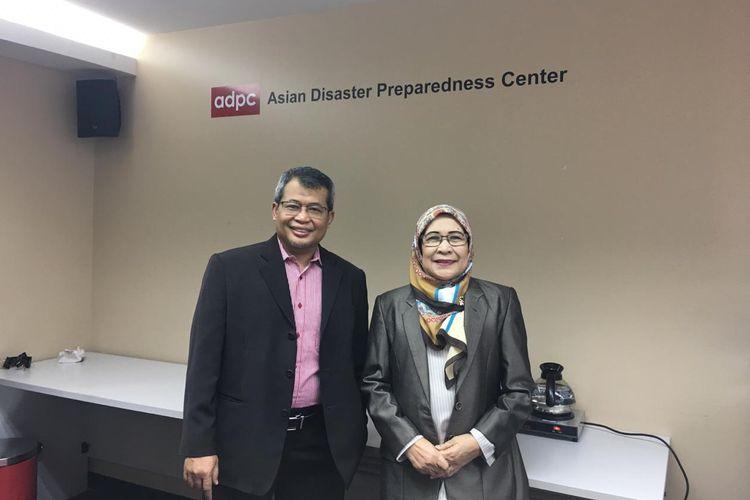 Plh Kapusdatin dan Humas BNPB Dr. Agus Wibowo, M.Sc (kiri)