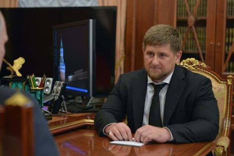 Pemimpin Rusia Ramzan Kadyrov.