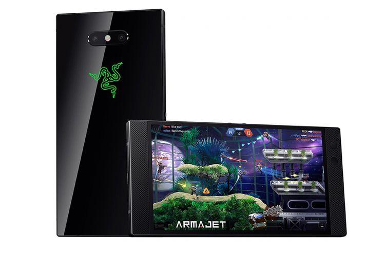 Tampang Razer Phone 2 terbilang mirip dengan pendahulunya.