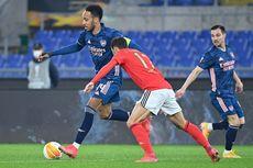 Hasil Benfica Vs Arsenal, The Gunners Main Imbang dalam Laga Usiran di Italia