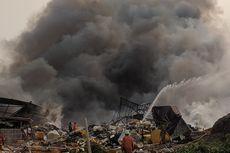 Korban Kebakaran di Dekat Bandara Soekarno Hatta Mengungsi