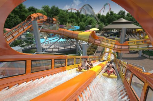 Wahana Roller Coaster Air Pertama di Dunia Bakal Hadir di Amerika Serikat