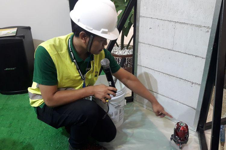 USG Boral Indonesia Jayaboard perkenalkan inovasi terbaru EasyFinish System, solusi pembuatan dinding hemat waktu, tenaga, biaya, dan ramah lingkungan.