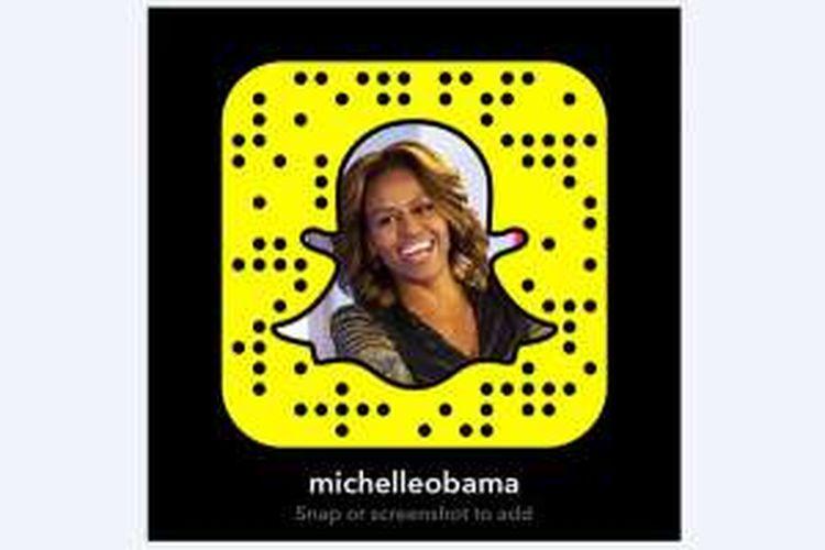 Foto profil Snapchat Michelle Obama
