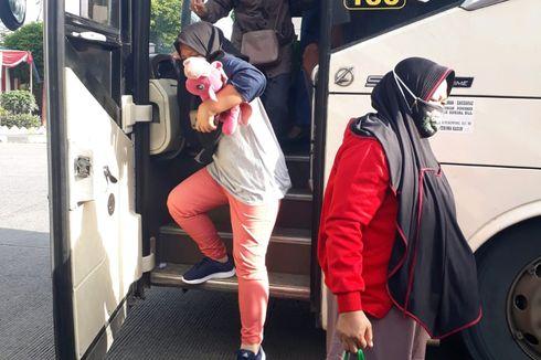 Puncak Arus Balik di Terminal Kalideres Hari Ini, 612 Orang Tiba di Jakarta