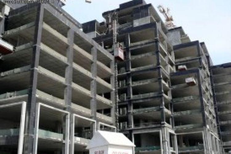 Dubai Properties Group merampungkan dua menara residensial Bay Square.