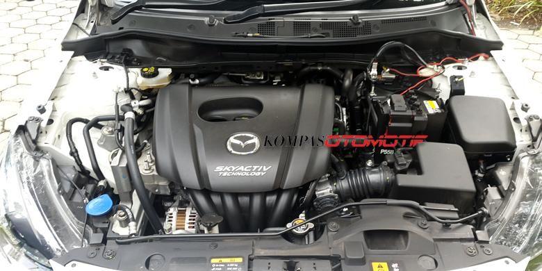 Mesin Skyactiv-G 1.5L milik Mazda2.