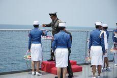 Peringati HUT ke-72 TNI, Panglima Ziarah dan Tabur Bunga di Selat Sunda