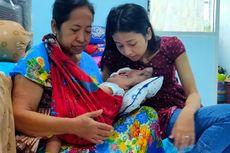 Kisah Pilu Dina, Ditinggal Suami Saat Anak Derita