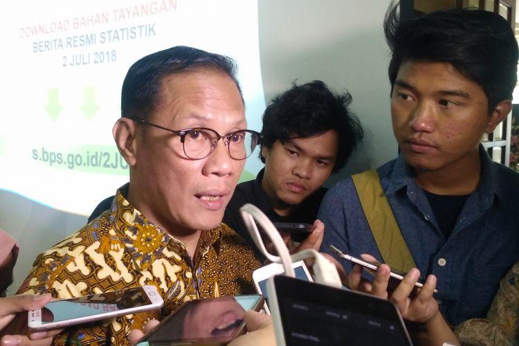 Kepala Badan Pusat Statistik (BPS), Suhariyanto.