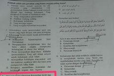Terkait Ujian Semester Bermuatan Khilafah, Kemenag Pastikan Tarik Soal Ujian