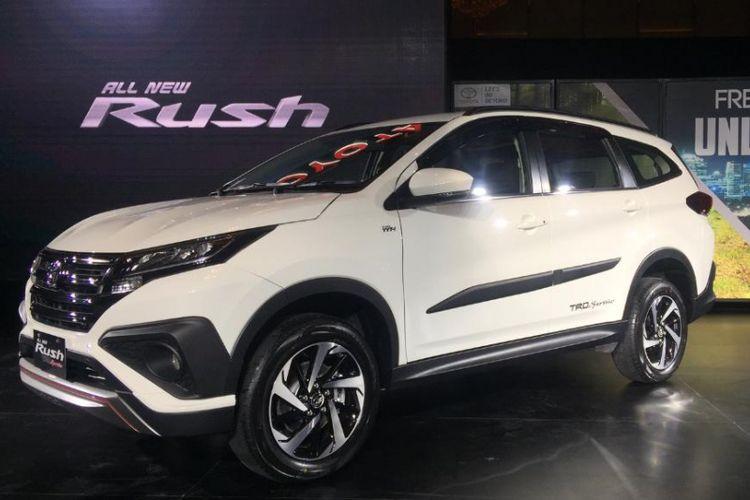 Toyota All New Rush meluncur tanpa harga