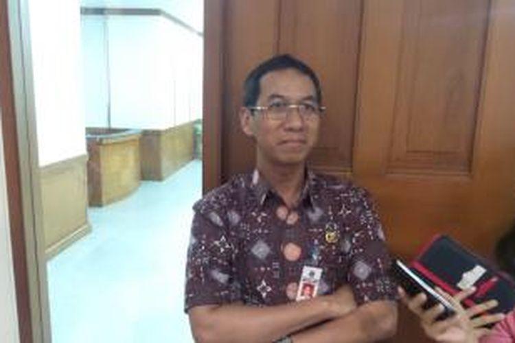 Kepala Badan Pengelola Keuangan Daerah DKI Jakarta, Heru Budi Hartono