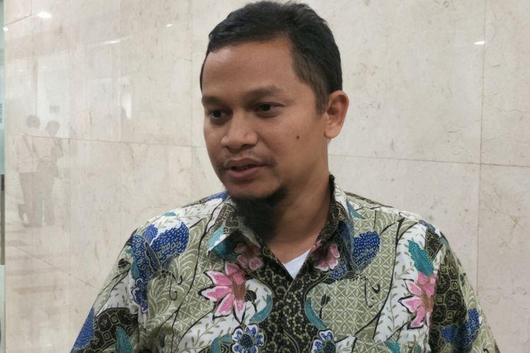 Wakil Ketua Komisi I DPR RI Hanafi Rais saat ditemui di gedung Nusantara II, Kompleks Parlemen, Senayan, Jakarta, Senin (29/1/2018).