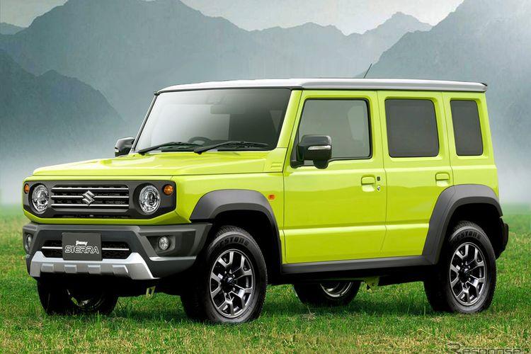 Hasil olah digital Suzuki Jimny 5 pintu