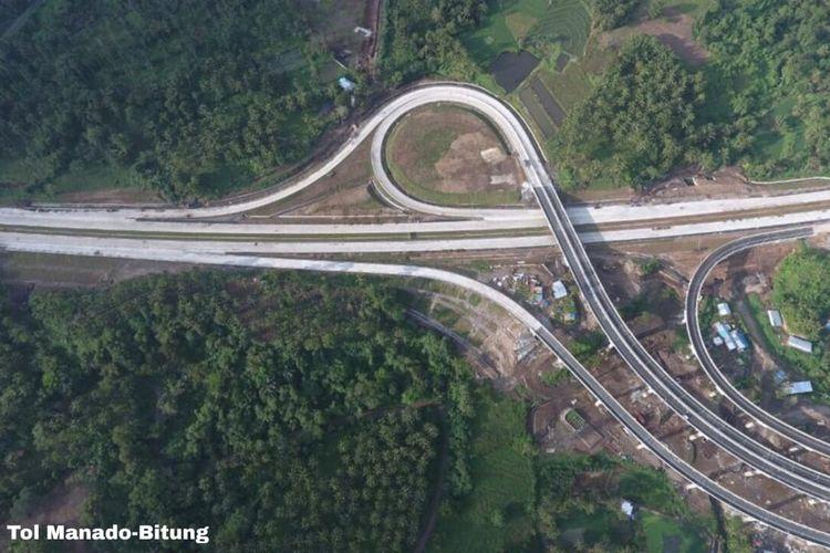Jalan Tol Manado-Bitung snap beroperasi tahin ini.