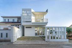 Desain Rumah Serba Putih dan Instagrammable