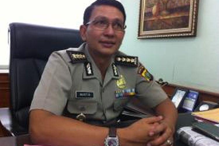 Kepala Bidang Hubungan Masyarakat Polda Metro Jaya Komisaris Besar Martinus Sitompul.