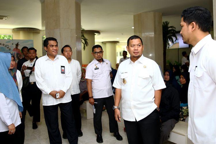 Pejabat Wali Kota Makassar M Iqbal S Suhaeb