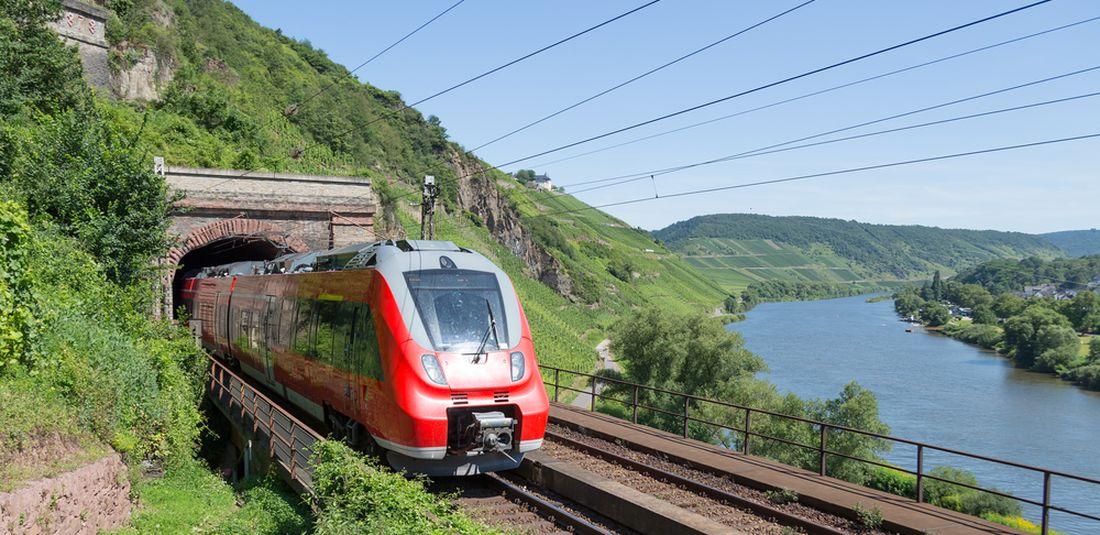 Ilustrasi kereta di Jerman