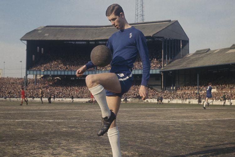 Penyerang legendaris Chelsea era 1970an, Peter Osgood (Twitter/ChelseaFC)