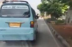 Ambulans Bawa Pasien Stroke Dihalang-halangi Angkot di Jatinegara