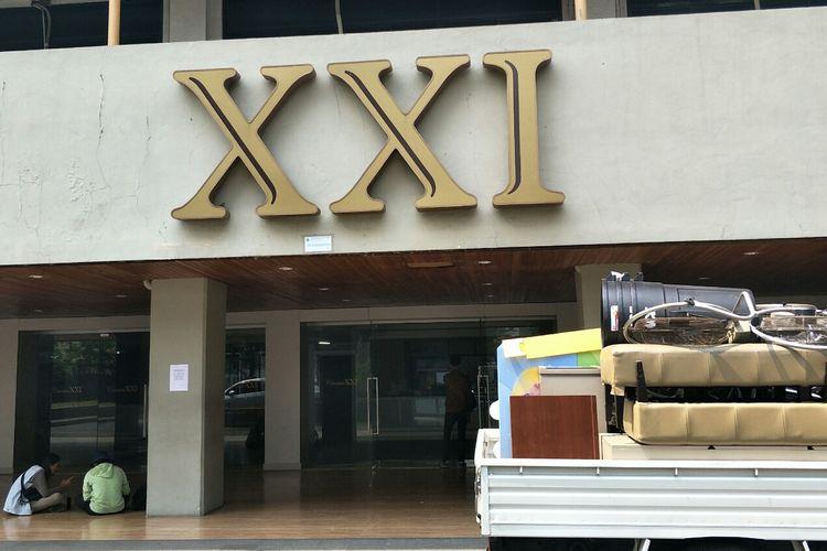 Bioskop XXI Taman Ismail Marzuki, Cikini, Jakarta Pusat, Senin (19/8/2019).