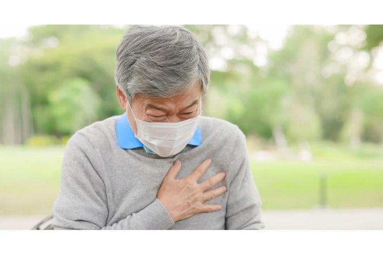 Ilustrasi pasien pengidap penyakit jantung.