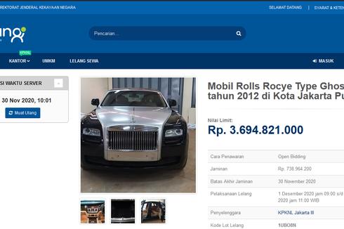 Pemerintah Lelang Mobil Mewah Seharga Rp 3,69 Miliar, Minat?