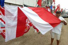 Kisah Penjual Bendera di Tangsel, Berjualan Demi Lihat Merah Putih Berkibar...