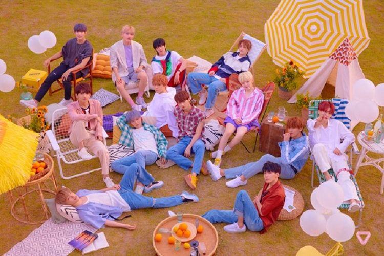 Boyband Seventeen merilis album baru bertajuk You Make My Day.