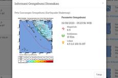 Ada Patahan Mentawai dan Enggano, Wilayah Bengkulu Rawan Gempa dan Tsunami