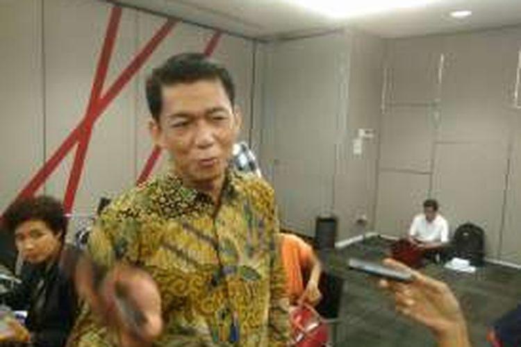 Direktur Utama PT Pefindo Saliyadi Saputra, Jakarta, Selasa (20/12/2016).