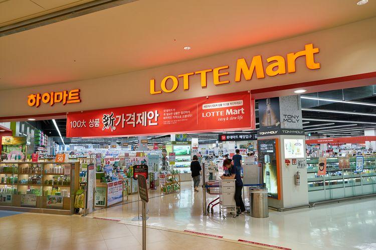 Lotte Mart salah satu usaha Lotte Group