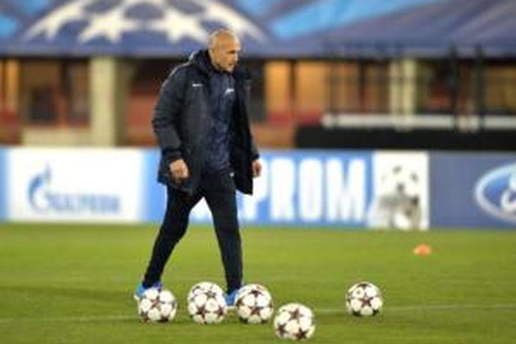 Pelatih Zenit St Petersburg, Luciano Spalletti.