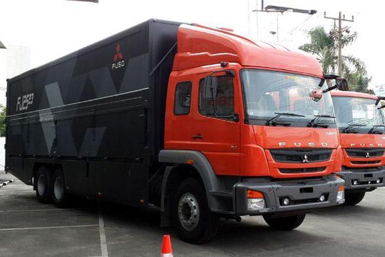 Duo truk Fuso terbaru dilengkapi teknologi dan fitur yang memanjakan pengemudi.