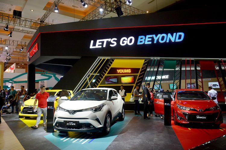 Toyota menampilkan lini produk terlengkap di IIMS 2019