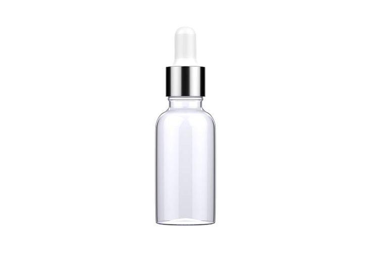 Ilustrasi botol skincare, kosmetik