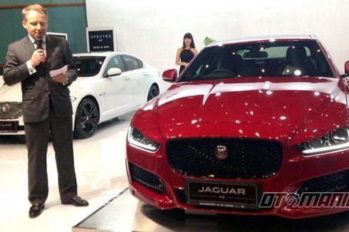 Sedan Aluminium Jaguar XE Meluncur di Senayan