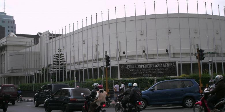 Museum Konferensi Asia Afrika, Kota Bandung, Jawa Barat.