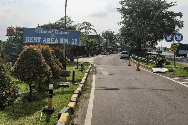 Ilustrasi rest area KM 52B Tol Jakarta-Cikampek