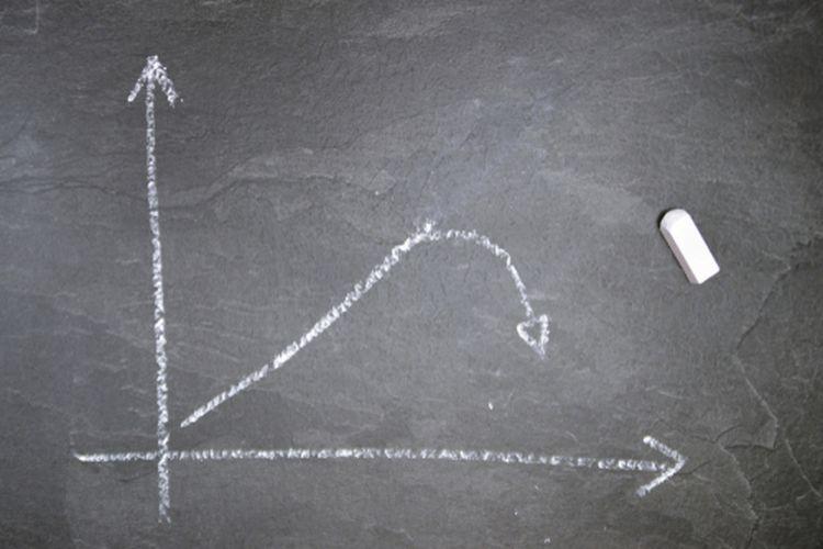 Ilustrasi resesi ekonomi
