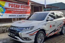 Mitsubishi Outlander PHEV Jadi Genset di Pengungsian Erupsi Merapi