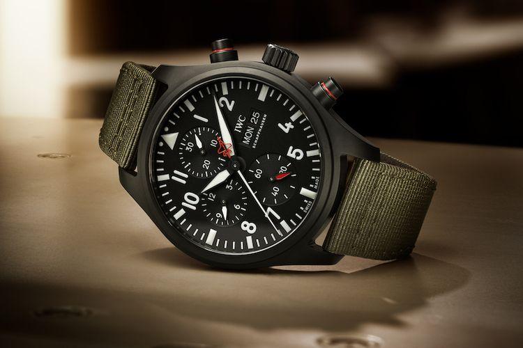 IWC Pilots Watch Chronograph Top Gun Edition SFTI