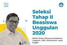 2.000 dari 85.000 Pendaftar Beasiswa Unggulan Lolos ke Tahap Wawancara