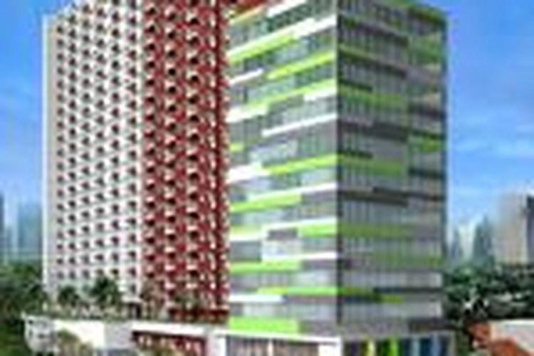 Adhi Persada Properti mengembangkan dua portofolio apartemen mahasiswa di Depok.