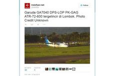 Pesawatnya Tergelincir, Garuda Indonesia Pastikan Semua Penumpang Selamat