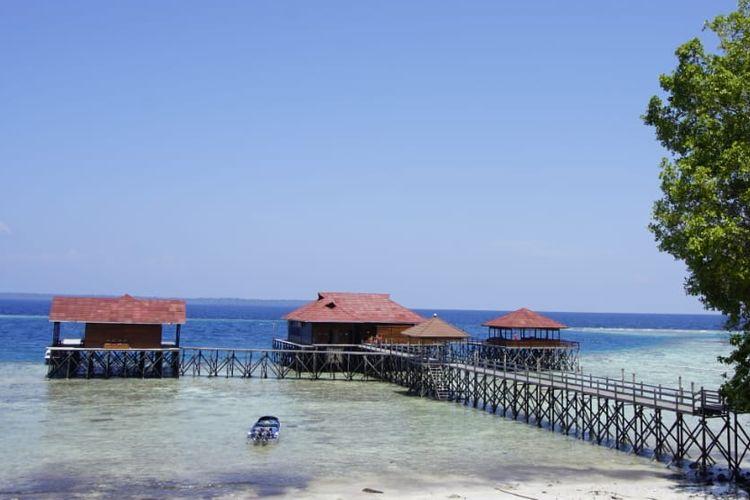 Keindahan Pulau Maratua, Kabupaten Berau, Kalimantan Timur