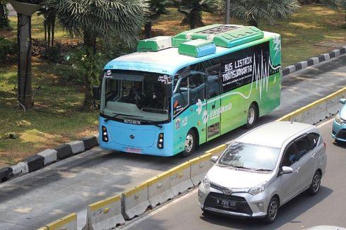 Uji Coba Bus Listrik Terkendala Aturan