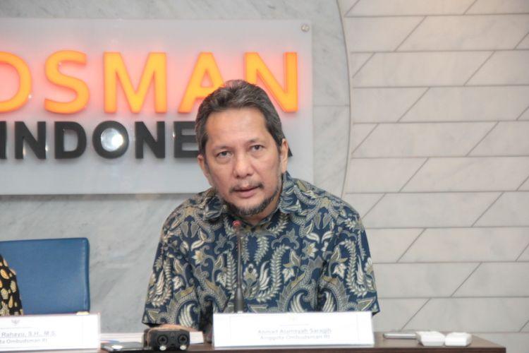 Anggota Ombudsman Republik Indonesia Alamsyah Saragig